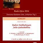 Klavirski duo Ruben Dalibaltayan in Julia Gubaidullina